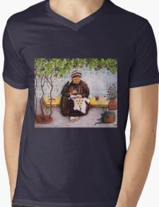 Leisure time Mens V-Neck T-Shirt