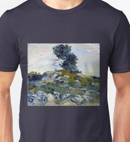 Vincent van Gogh The Rocks Unisex T-Shirt