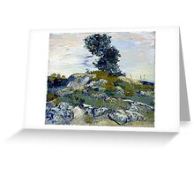 Vincent van Gogh The Rocks Greeting Card