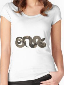 Boa constrictor - Snake Women's Fitted Scoop T-Shirt