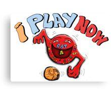 CAT BALL GAME Canvas Print