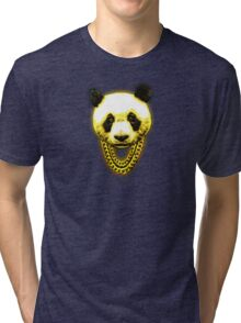 Panda Desiigner Yellow Tri-blend T-Shirt