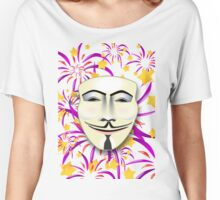 Anonymous Fireworks Women's Relaxed Fit T-Shirt