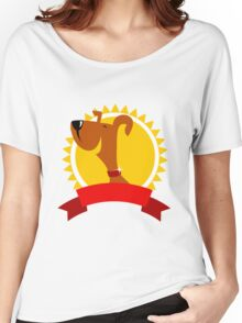 Champion dog Women's Relaxed Fit T-Shirt