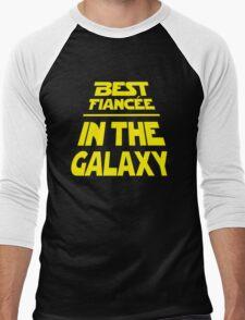 Best Fiancee in the Galaxy - Slanted Men's Baseball ¾ T-Shirt