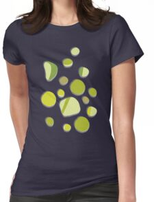 retro islands Womens Fitted T-Shirt