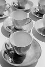 tea cups 2 by Janine Paris
