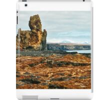 Londrangar and Lava Fields iPad Case/Skin