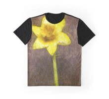 Daffodil Pencil Graphic T-Shirt