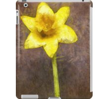 Daffodil Pencil iPad Case/Skin