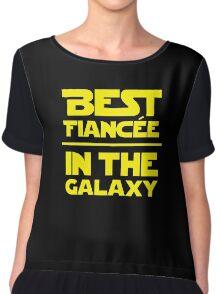 Best Fiancee in the Galaxy - Straight Chiffon Top
