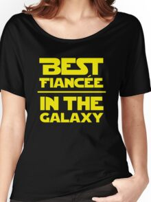 Best Fiancee in the Galaxy - Straight Women's Relaxed Fit T-Shirt