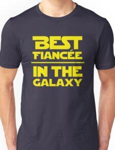 Best Fiancee in the Galaxy - Straight Unisex T-Shirt