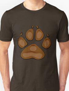 brown paw T-Shirt