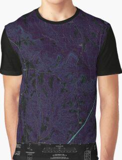USGS TOPO Map Alabama AL Lyeffion 20110915 TM Inverted Graphic T-Shirt