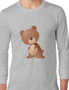 Cartoon teddy character Long Sleeve T-Shirt