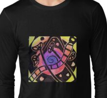 Fruit and Seed Vortex Long Sleeve T-Shirt