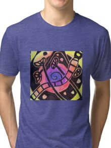 Fruit and Seed Vortex Tri-blend T-Shirt