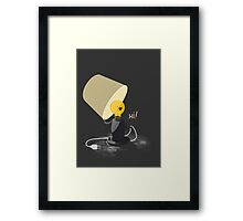 Hi light Framed Print
