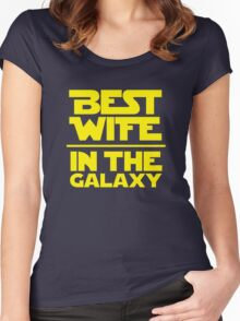 Best Wife in the Galaxy Women's Fitted Scoop T-Shirt