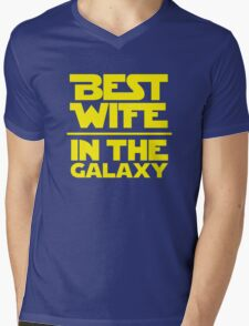 Best Wife in the Galaxy Mens V-Neck T-Shirt