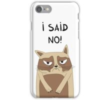 Grumpy iPhone Case/Skin