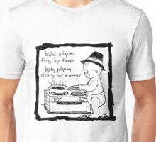 Baby Pilgrim Dinner Unisex T-Shirt