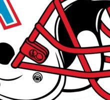 HOUSTON OILERS FOOTBALL RETRO (2) Sticker