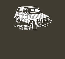 In one Thing we trust (white) Unisex T-Shirt