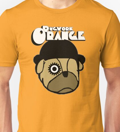 Pugwork Orange Unisex T-Shirt