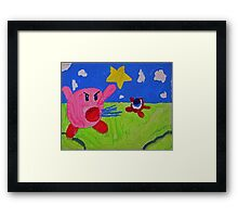 Become The Enemy Framed Print