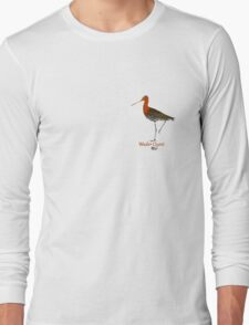 Black-tailed Godwit - Wader Quest Long Sleeve T-Shirt