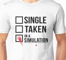 Relationship Status - Person of interest - Sameen Shaw Unisex T-Shirt