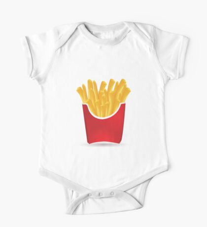 French fries art One Piece - Short Sleeve