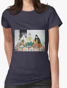 Leisure time Womens Fitted T-Shirt