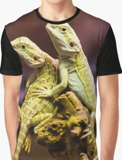 Lizards in Love Graphic T-Shirt