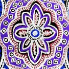 Purple Paisley  by ©The Creative  Minds