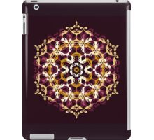 Mandala of bordo and yellow colors iPad Case/Skin