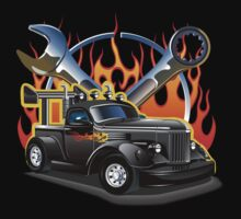 Retro Hot Rod Baby Tee