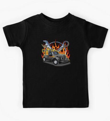 Retro Hot Rod Kids Tee