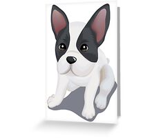 Rat terrier dog  Greeting Card