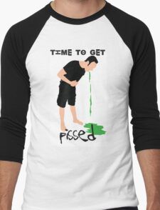 Time to get pissed Men's Baseball ¾ T-Shirt