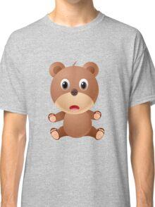 Cute Cartoon bear character Classic T-Shirt