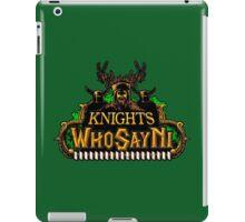 MONTY PYTHON NI KNIGHTS iPad Case/Skin