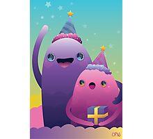 Birthday Monsters Photographic Print