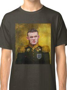Sir Wayne Rooney Earl of Manchester Classic T-Shirt