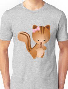 Cartoon squirrel Character Unisex T-Shirt