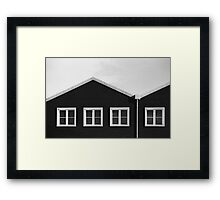 Three quarters Framed Print