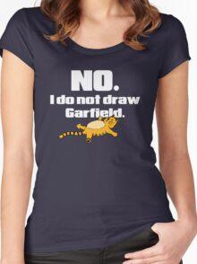 I Am Not Jim Davis Women's Fitted Scoop T-Shirt