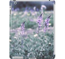 Flower meadow in vintage look iPad Case/Skin